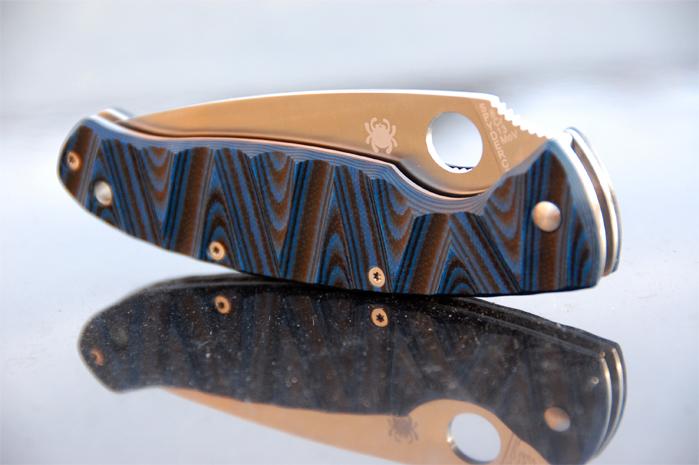 Spyderco Resilience custom G10 scales (1st) | G10 lt Custom Made Scales
