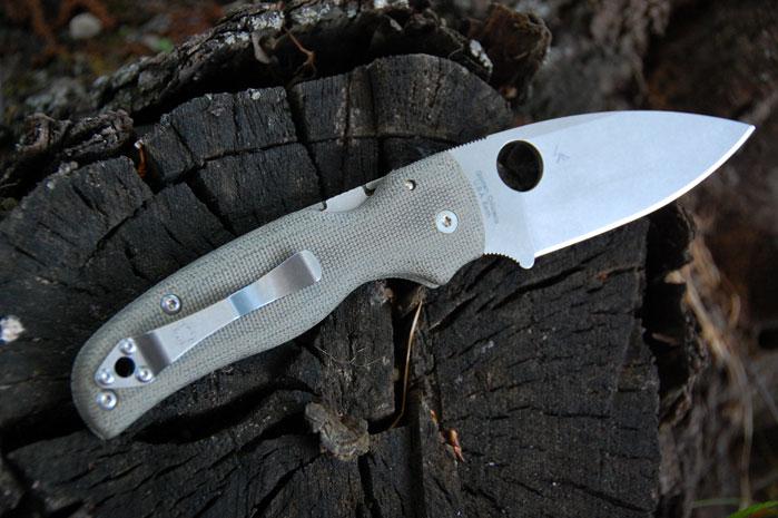 Spyderco Shaman custom micarta scales v 2   G10 lt Custom
